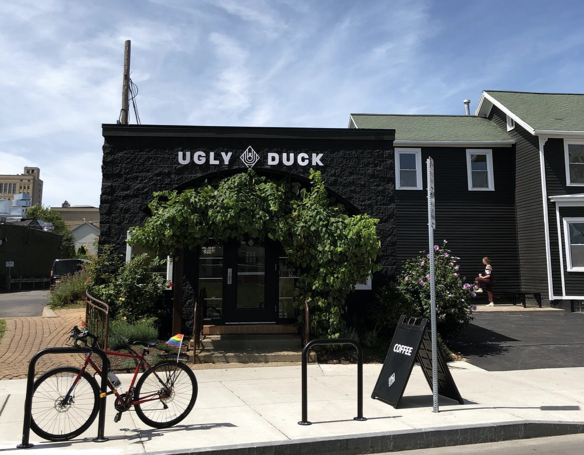Ugly Duck Entrance